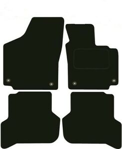 Seat Altea Tailored Car Mats From 2004-2008- Black