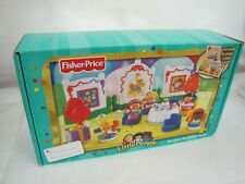 New! Fisher Price LITTLE PEOPLE MUSICAL BIRTHDAY PARTY Music Lights 2004 Rare