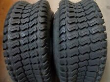 TWO 23/8.50-12, 23/8.50x12 Lawnmower/Golf Cart Turf Tread 4 ply Tubeless Tires