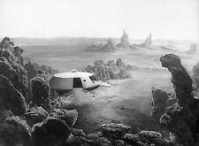 1965's Lost In Space Jupiter Ii & rocky terrain overview b/w 8x10 scene