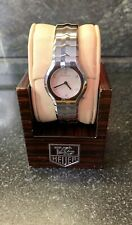 TAG HEUER LADIES WATCH - DIAMOND AND MOTHER OF PEARL DIAL - WAA1418