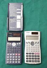 Lot 2x Casio Fx-115Ms Business/Scientific Calculator Battery/Solar Two Way Power
