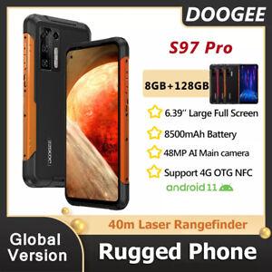 DOOGEE S97 Pro Rugged Phone 40m Laser Rangefinder 8500mAh 8GB+128GB Helio G95