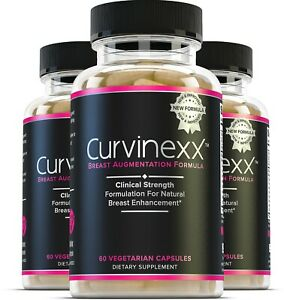 3x Curvinexx: The Ultimate Natural Breast Enhancement & Growth Supplement