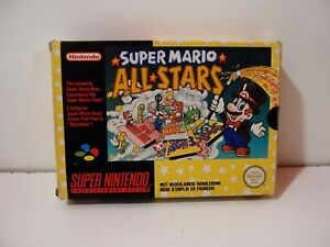 Super Mario All-Stars Super Nintendo SNES Pal Euro