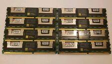 KINGSTON KVR 8GB 4x 2GB KVR533D2D4F4/2G PC2-4200F DDR2 ECC FB-DIMM Ram Memory PC