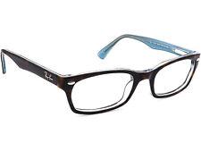 Ray Ban Eyeglasses RB 5150 5023 Dark Tortoise/Blue Horn Rim Frame 50[]19 135