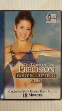 The Workout less Precision Body Sculpting Video (2007) new