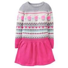 "Gymboree Fair Isle Sweater Dress Girl XL(14) Height:60-62"", Weight:98-110 Lb"