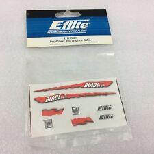 EFLH2229 E-Flite Horizon Hobby Decal Sheet (Red Graphics) - BMCX - RC