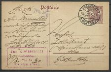 Allemagne Germany Deutschland Empire Carte Postale Postcard Reich Poskarte 1920