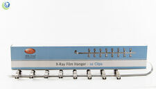 NEW DENTAL X-RAY FILM HANGER 16 CLIPS FOR XRAY FILM DIP TANK DEVELOPER 451-0016