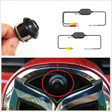 NTSC/PAL 360° Rotatable Car Camera + 12V 2.4GHz Wireless Receiver Transmitter