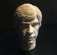 MEGA RARE-inigou-Luke Skywalker-Star Wars Rotj-Personalizzato 1/6 TESTA SCOLPIRE