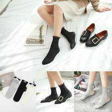 Mujer Elásticos Calcetines De Encaje Seda Tobillo Verano Socks