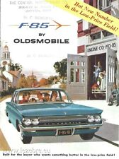 1961 Oldsmobile F-85 Catalog Sales Brochure Excellent Original 61