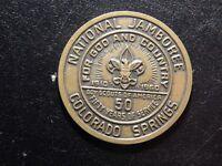 NATIONAL JAMBOREE COLORADO SPRINGS 50 YEARS OF SERVICE MEDAL!   BB425XCU
