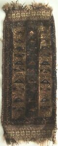 Antik Belutsch Teppich Nomaden Tierschmuck Handgeknüpft Sammlerstück Baluch Rug