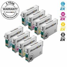 8pk T126 126 T126120 Black & Color Printer Ink Cartridge for Epson WorkForce 645