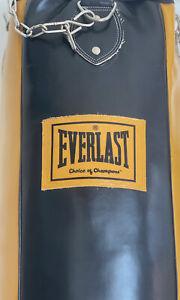 """Boxsack Everlast """"Choice Of Champions"""" 32KG 105cm Mit Aufhängung & Füllung"""