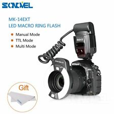 Meike MK-14EXT iTTL TTL LED Macro Ring Flash Light for Nikon D800 D5200 D7100 D4