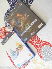 --*- FINAL FANTASY X   &  ETERNAL RING  -*-  PS2 - CoMPLET --*
