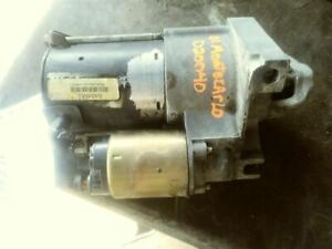 Starter Motor Without Supercharged Option Fits 01-03 GRAND PRIX 163665