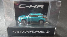 TOYOTA CHR LED Light Keychain Green PullBack Mini Car Not Sold in stores