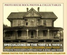 Johnny Winter April 1975 Very Rare 8x10 Richard Hughes On Drums Jdw Iii Tour