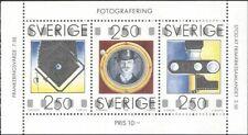 Sweden 1990 August Strindberg/Photography/Cameras/Photos/People 3v pane  n43505q