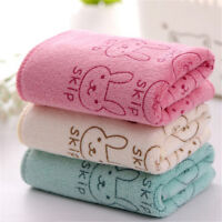 5Pcs Cute Rabbit Baby Infant Bath Towel 25*50cm Kids Washcloth Towel Pi ia