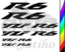 YAMAHA YZF-R6 FAIRING DECALS STICKERS EMBLEM DECAL KIT TANK BIKE MOTORCYCLE/_729