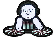 """DJ Platte"" Leuchtfolie Leuchtpanel EL-Panel für T-Shirt Party Diskothek Hit"