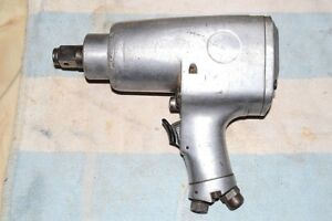MILWAUKEE PNEUMATIC MP-151 IMPACT RATCHET WRENCH 3/4 drive tested