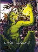 Fleer Ultra Spider-Man Gold Web Auto Autograph Caio Cacau #32 Jackal 46/49