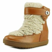 Coach Womens Monroe Leather Cold Weather Boots
