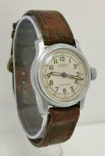 Vtg 1940 Civitas WW2 Era Military Style Gents Wrist Watch Cal 10½C Brevet 197347