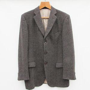 Mens PAL ZILERI Wool Blazer Jacket UK 38R / IT 48R 3 Button Tweed Sports