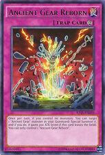 1x Yugioh RATE-EN070 Ancient Gear Reborn Rare - Unlimited Edition Card