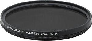 77mm Multi-Coated CPL HD Digital Circular Polarizer Filter