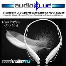 AudioBlue Bluetooth 3.0 Sports Heaphone Headset-Connect phone/devices Mic Stereo