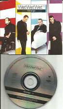 WET WET WET Strange EUROPE PROMO DJ CD single USA seller 1997 MINT