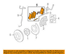 Hummer GM OEM 06-10 H3 Brake-Front Pads 15240794