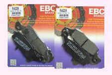 Full Set  EBC FA229 & FA231 Front Brake pads KAWASAKI KLE KLE650 Versys 2007-14