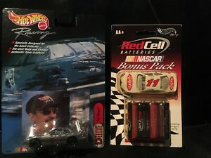 Hot Wheels Red Cell Batteries Nascar Ralphs & Deluxe Kyle Petty 1999 Lot Of 2