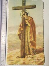 Santino Holy Card fustellato Santa Elena   GT1484 ^