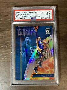 2018 Kobe Bryant Panini Donruss Optic All Clear for Take Off #15 PSA 9