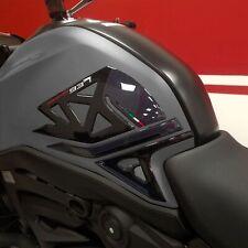 Adesivi 3D Protezioni Laterali serbatoio compatibili con Ducati Monster 937 2021