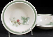 Wedgwood RASPBERRY CANE 2 Fruit Bowls Trim off Edge GREAT CONDITION
