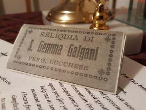 St.Gemma Galgani Reliquary Pouch